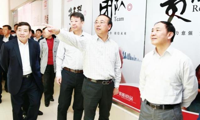 蚌埠市党政代表团来滁考察