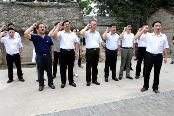 张祥安参加市委办公室第一党支部主题党日活动