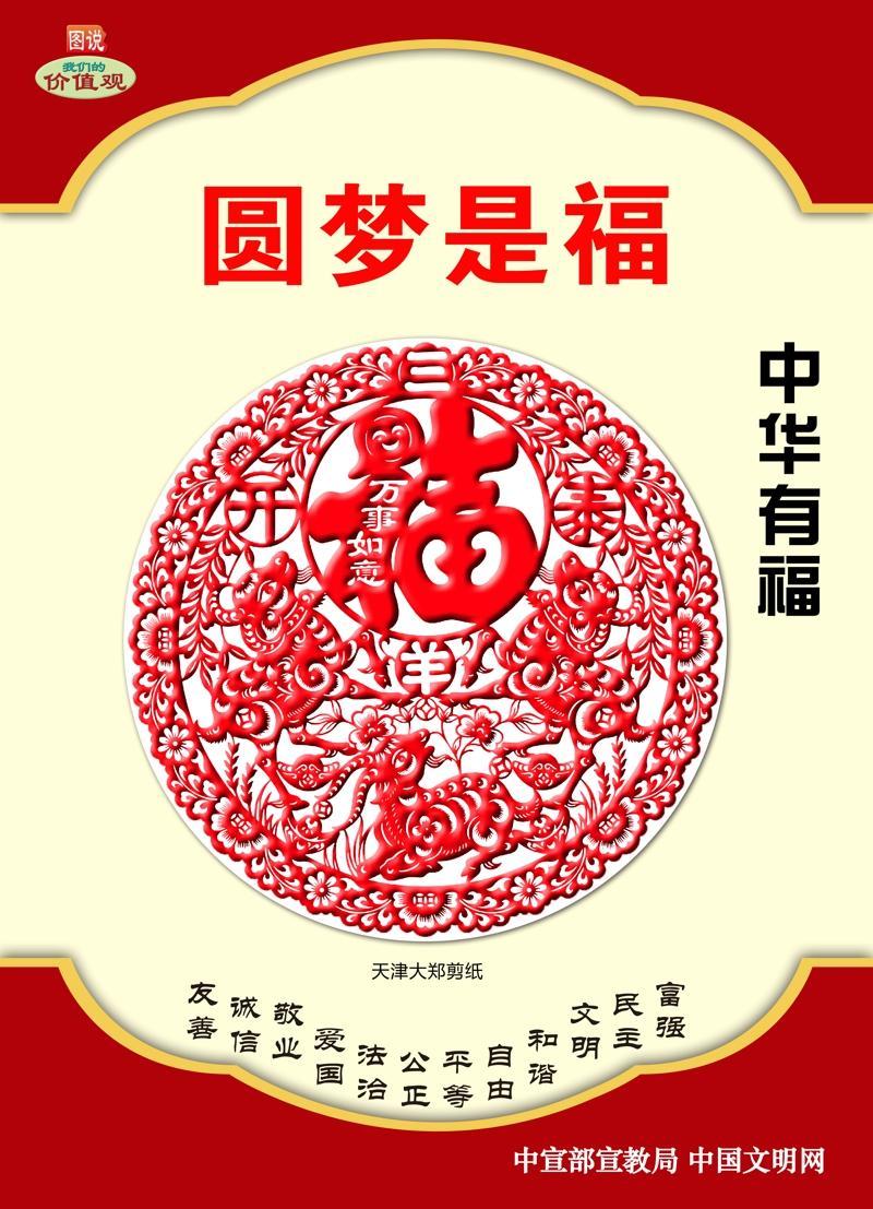 中华有福 圆梦是福