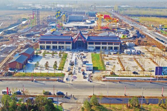 我市新建一大型旅游集散中心