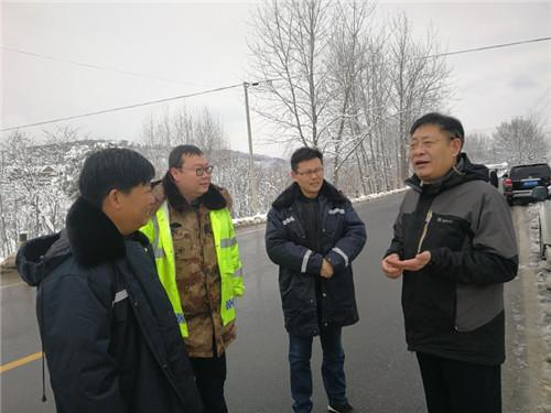 市交通运输局:吴胜智深入S311线督导直属分局抗雪保畅工作