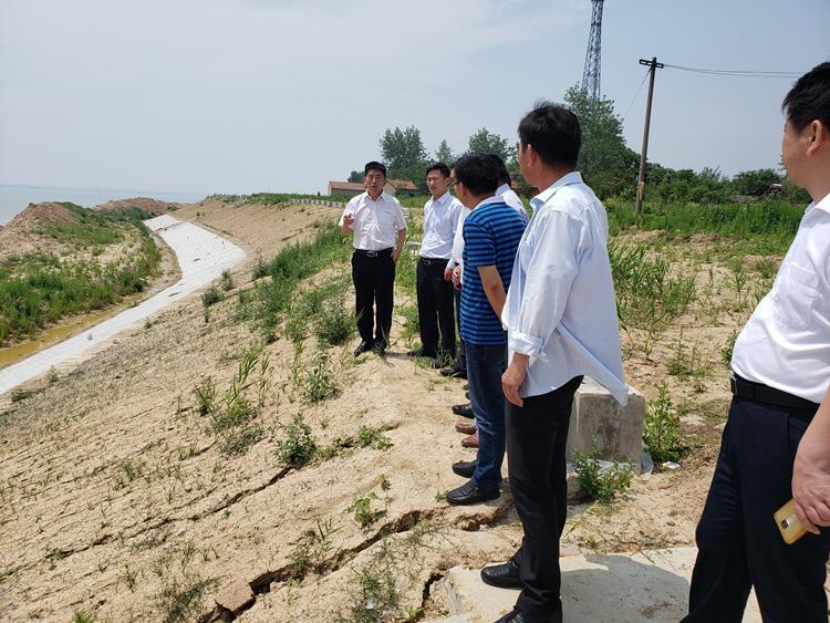 市自然资源和规划局:朱林调研汛期地质灾害防治工作