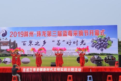 南谯分局圆满完成2019滁州 珠龙第三届蓝莓采摘节