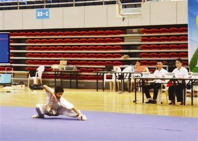 传统体育让校园文化丰富多彩